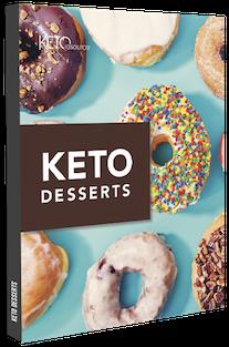 Bonus #1 Keto Desserts cover